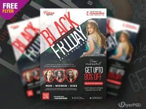 Black Friday Sale Flyer PSD