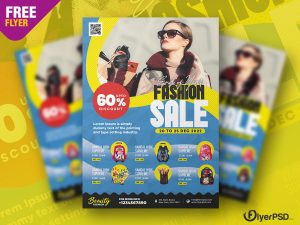 Premium Fashion Flyer PSD Template