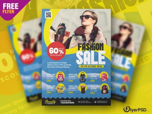 Premium Fashion Flyer PSD Template