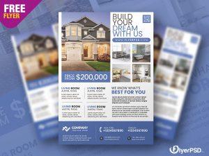 Real Estate Promotion Flyer PSD