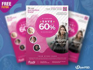 Latest Fashion Sale Flyer PSD
