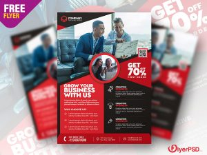 Business Promotion Flyer PSD Template