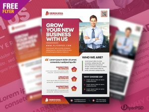 Corporate Business Promotion Flyer PSD