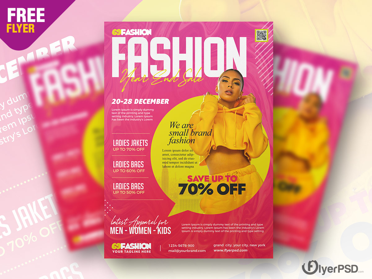 Sale Promotion Flyer PSD
