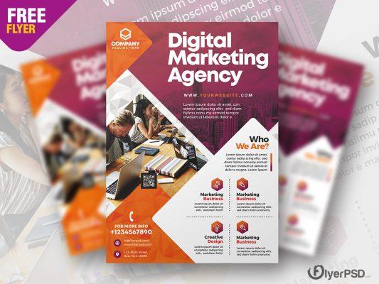 Business Marketing Flyer PSD Template