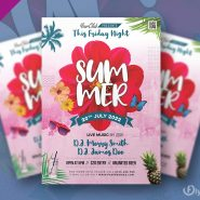 Summer Special Event Flyer PSD