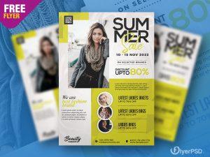 Fashion Sale Promotion Flyer PSD