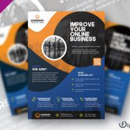 Corporate Business Promotion Flyer Design PSD