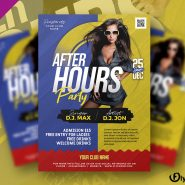 After Hours Party Flyer PSD