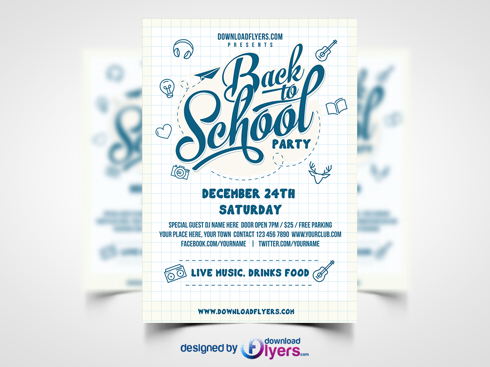 flyers template free download